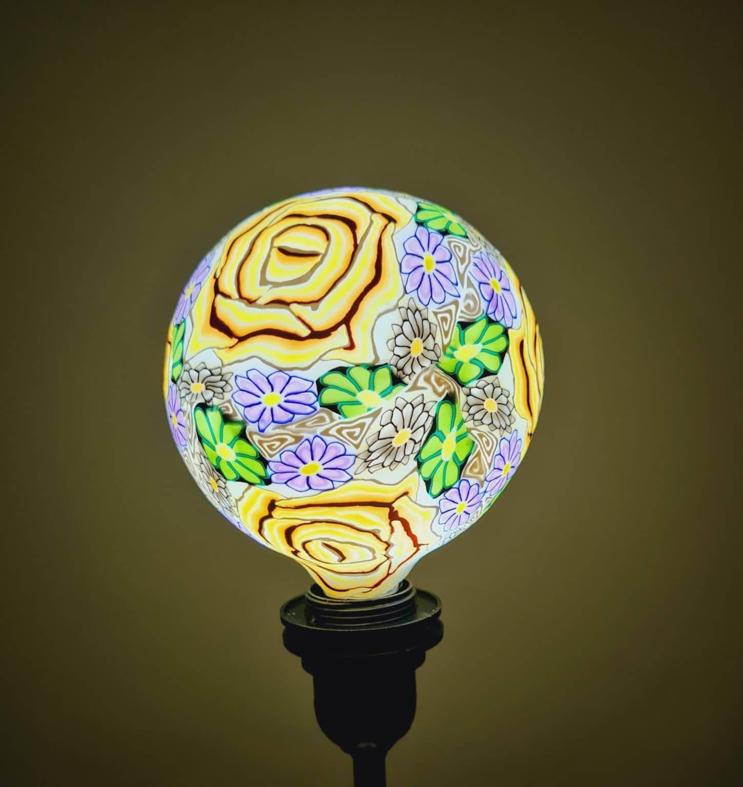 Artistic Printed Decorative LED Bulbs
