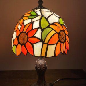 Sunflower Tiffany Lamp